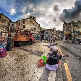 by Hairi Mansur - City,  Street & Park  Street Scenes