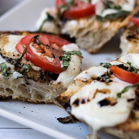 Open-Faced Grilled Caprese Sandwich