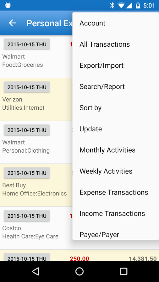 Expense Manager Pro Screenshot 3