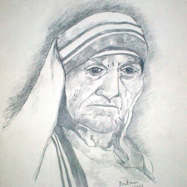 THE FACE OF HUMANITY by Pritam Bhowmick - Drawing All Drawing