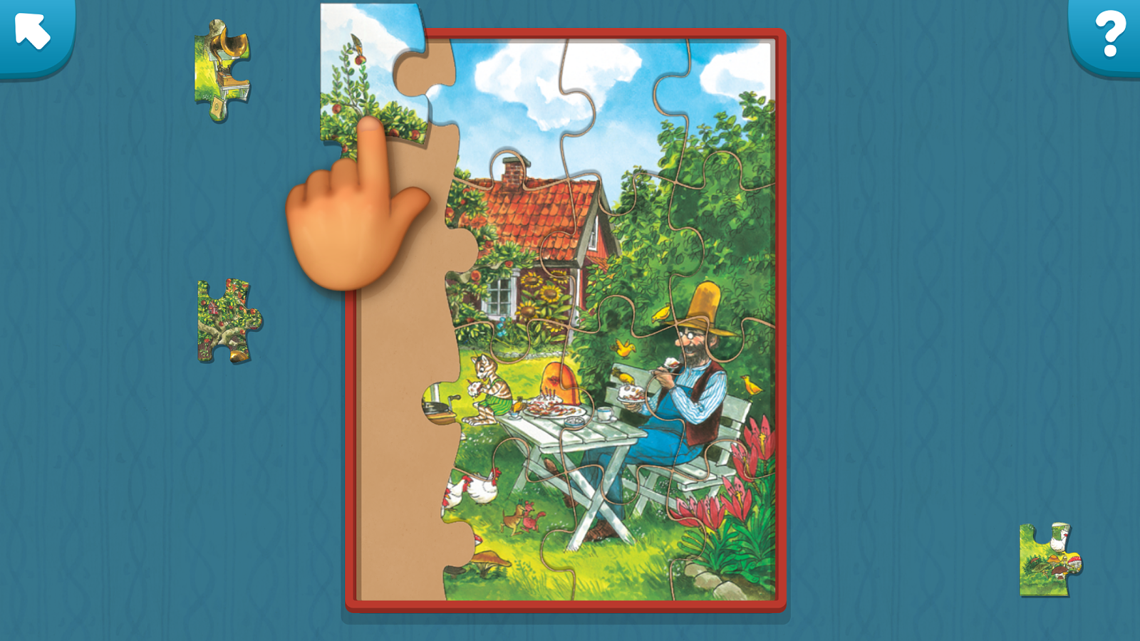 Pettson's Jigsaw Puzzle Screenshot 1
