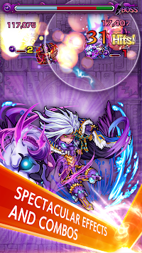 Monster Strike APK screenshot thumbnail 8