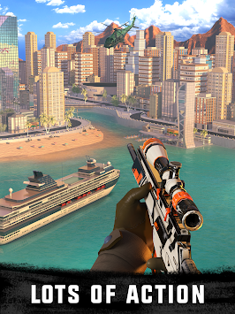 Sniper 3D Assassin Gun Shooter APK screenshot thumbnail 2