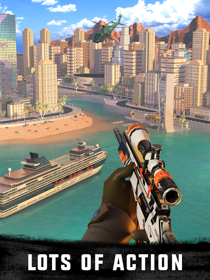 Sniper 3D Assassin Gun Shooter Screenshot 1