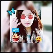 App InstaPics - Blur Photo Editor with Selfie Stickers APK for Windows Phone