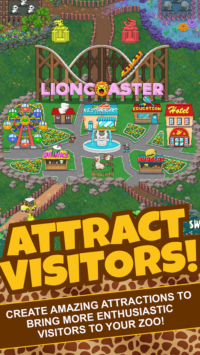 Idle Tap Zoo: Tap, Build & Upgrade a Custom Zoo Screenshot 16