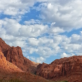 St. George Utah by Christina McGeorge - Landscapes Mountains & Hills ( clouds, hills, mountains, utah )