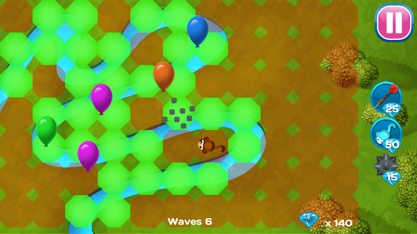 android Balloons Destroyer - Blast! Screenshot 2