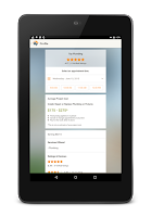 Screenshot of HomeAdvisor Mobile