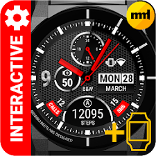 Watch Face BW Inter