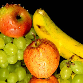 THREE DELIGHTS by SANGEETA MENA  - Food & Drink Fruits & Vegetables
