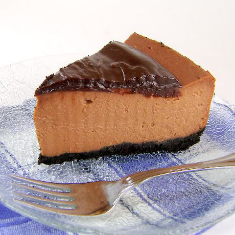 Triple-Chocolate Cheese Cake