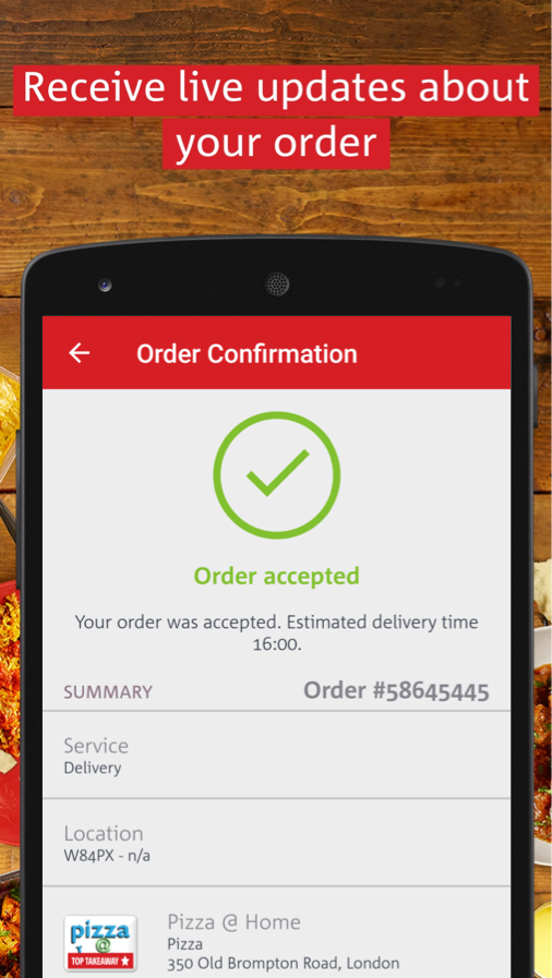hungryhouse Takeaway Delivery Screenshot 3