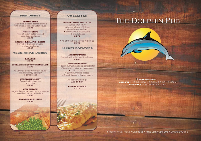 Click to enlarge menu