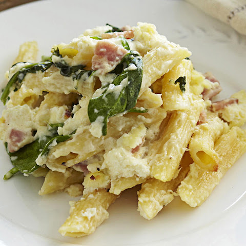 Ricotta and Bacon Pasta Casserole