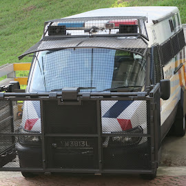 Police Armour Van by Dennis  Ng - Transportation Automobiles (  )