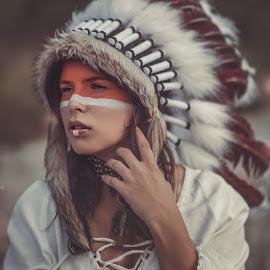 Indian by Tomáš Paule - People Portraits of Women ( model, sexy, woman, indian, photo, portrait )