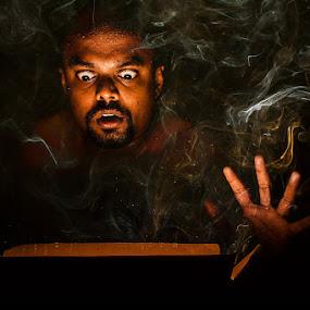 Happy Halloween  by Vinod Velayudhan - People Portraits of Men ( expression, people, portrait, halloween )