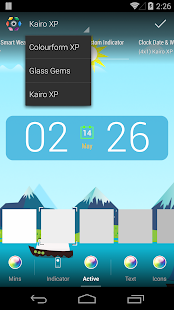 Kairo XP (for HD Widgets)