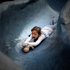 i'll save youuu! by Alex D.  Veriga - Babies & Children Children Candids ( babies, alex veriga, girl, 2013, candids, toys, children, saving, young, photography )