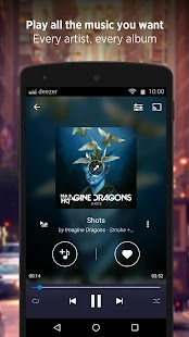 Free Deezer: Music & Song Streaming APK for Windows 8