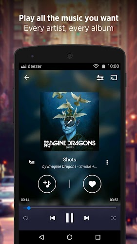 Deezer: Music & Song Streaming Android App Screenshot