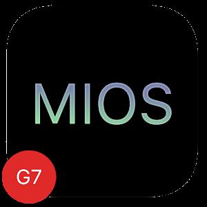MIOS Black Theme LG G7 V35 V40
