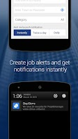 Screenshot of StepStone Job App