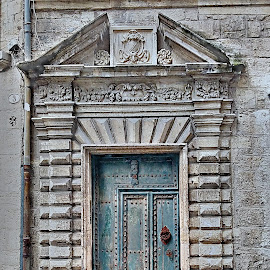 The door by Helena MARC - Buildings & Architecture Architectural Detail ( building, doorway, street, door, tourism, architecture, photography, wanderlust, street photography, tourist, pezenas, southernfrance, mobile phone, france, trip, phoneography, tourisme )
