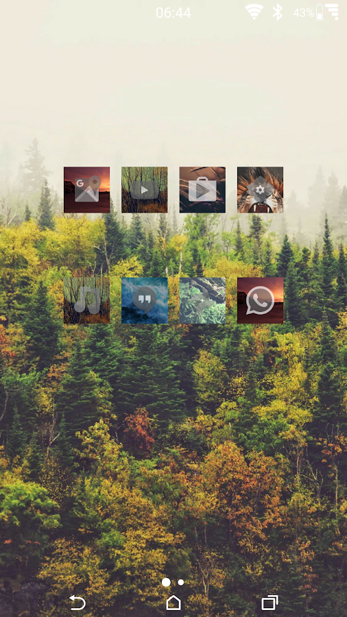 Zen Nature Icons Screenshot 1
