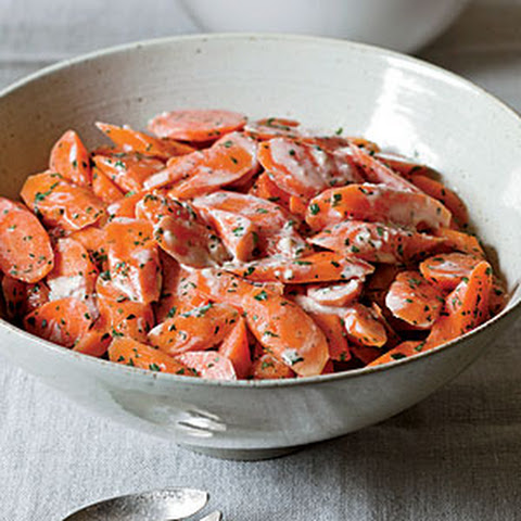 Chilled Carrots With Tahini-Ginger Dressing Recipe   Yummly