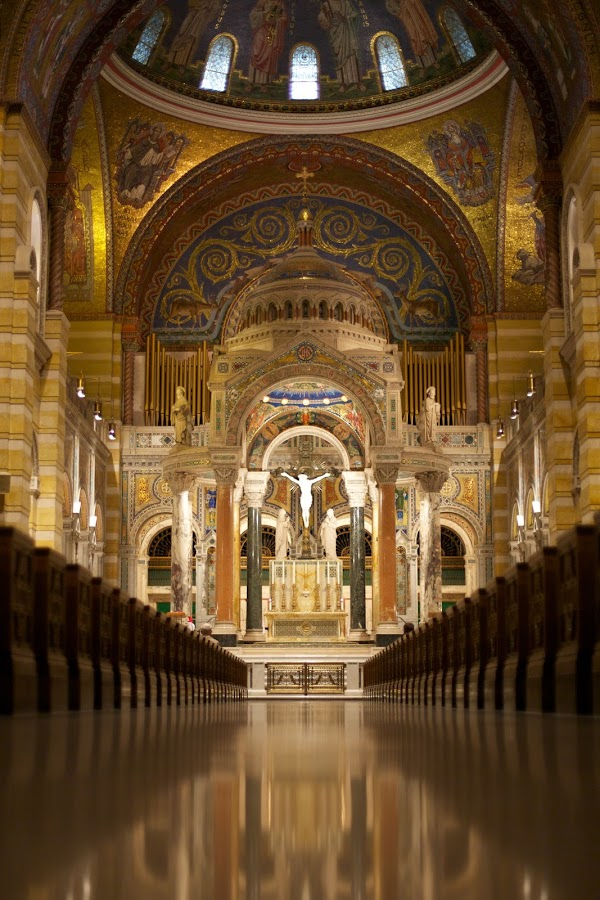Main Entrance of Basilica Catherdral by Sschu Photos - Buildings & Architecture Places of Worship