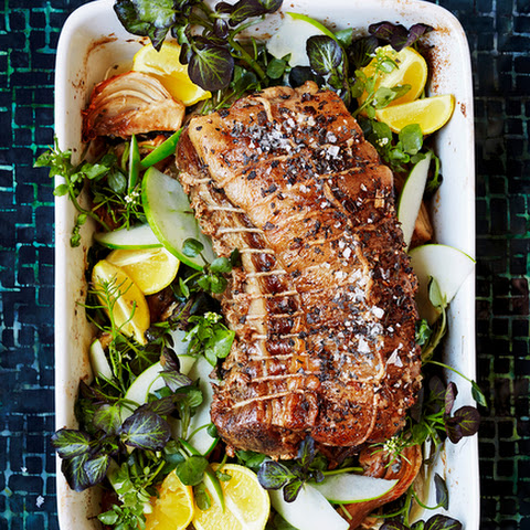 Pork-Fennel-Apple Roast