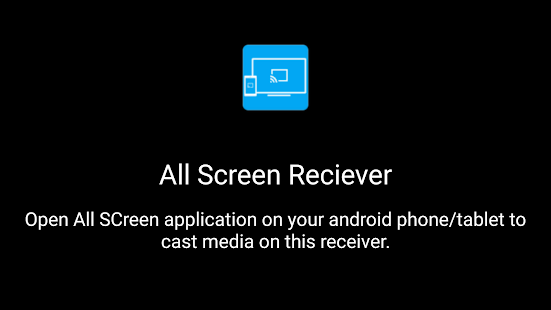 All Screen Receiver - screenshot