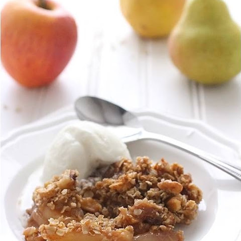 Skinnytaste Pear Apple Crumble Dessert