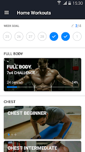 Home Workout - No Equipment Fitness app screenshot 1 for Android