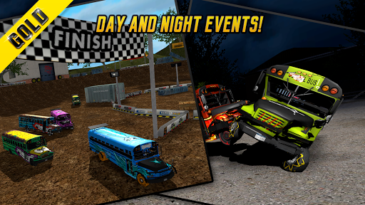 Bus Demolition Derby GOLD+ - screenshot