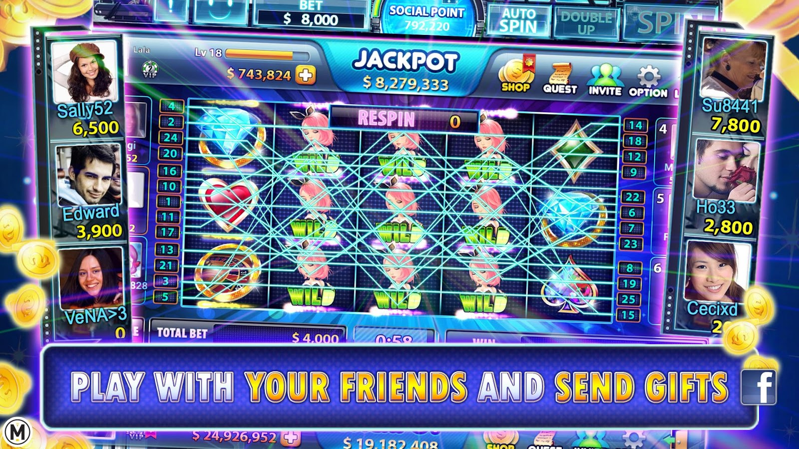 Full House Casino- Lucky Slots Screenshot 6