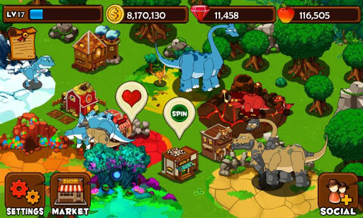 Dino Island screenshot 1