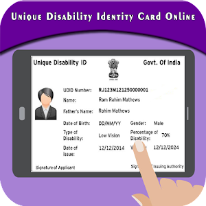 Download Unique Disability Identity Card Online (UDID) For PC Windows and Mac