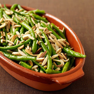 Sauteed String Beans with Almonds