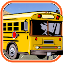 City Bus Parking 3D icon