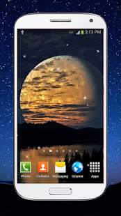 Moonlight Live Wallpaper HD - screenshot