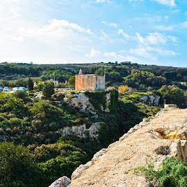 Bingemma - Malta by Ryan Agius - Landscapes Caves & Formations ( clouds, amazing, winter, grass, malta, trees, flowers, stones, sun )