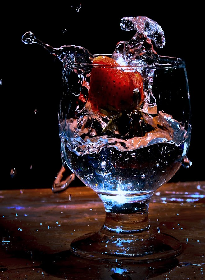 Strowberry Jump by Ruri Irawan - Food & Drink Fruits & Vegetables