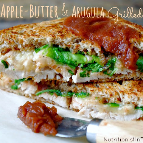 Turkey, Apple-Butter & Arugula Grilled Cheese (GF option!)