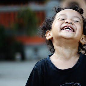 ngakak [lol] by Budie Deathlust - Babies & Children Children Candids ( child boy son laugh,  )