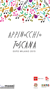 Appinocchio - Tuscany Expo2015 - screenshot