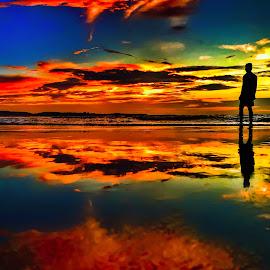 Solitude by Saurabh Shukla - Landscapes Sunsets & Sunrises