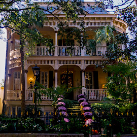 Late Afternoon in Savannah Georgia by Dee Haun - Buildings & Architecture Public & Historical ( 2017, savannah, 161025$ey5050rce3, late afternoon, georgia, historical, buildings & architecture )